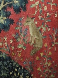 renard (détail de la tapisserie de la Dame à la Licorne)