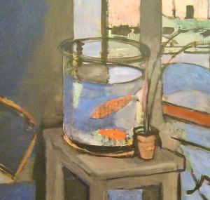 Henri Matisse, Interieur, bocal de poissons rouges, 1914
